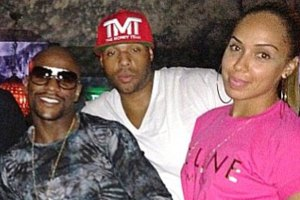 Floyd Mayweather, Earl Hayes and Stephanie Moseley