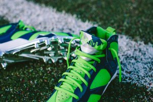 Air Jordan VII Cleat For Seahawks' Earl Thomas