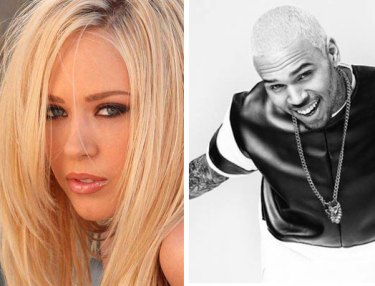 Kagney Linn Karter and Chris Brown