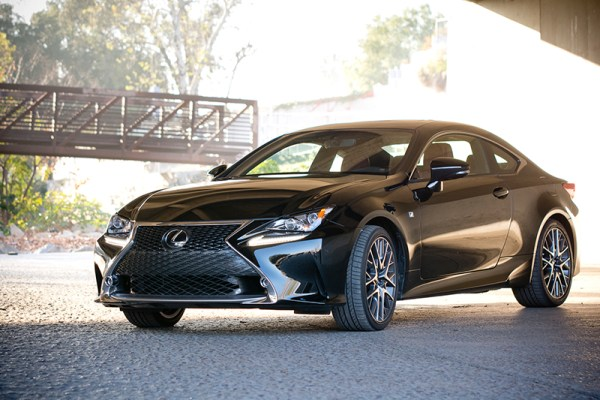 A Closer Look At The 2015 Lexus RC 350 F Sport
