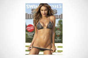 Hannah Davis Covers Sports Illustrated's 2015 Swimsuit Issue