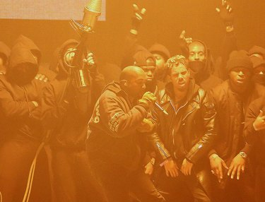 Kanye West at 2015 BRIT Awards