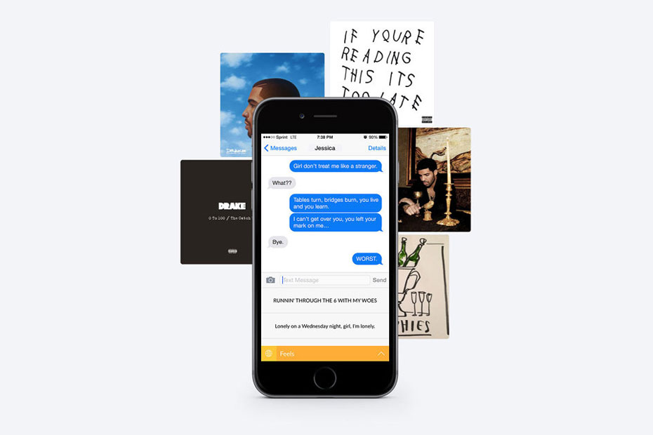 Drizzy App Lets You Quote Drake