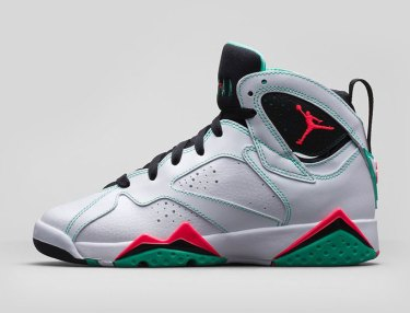Girls Air Jordan 7 Retro - Verde