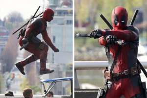 Photos from set of 'Deadpool'