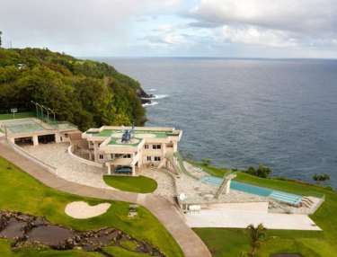 Inside The Waterfalling Estate On Hawaii's Big Island