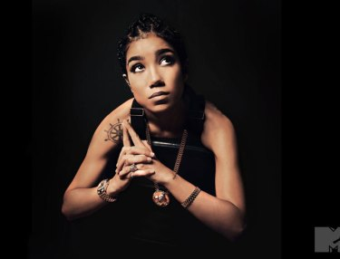 Jhene Aiko Recreates Iconic Tupac Photos