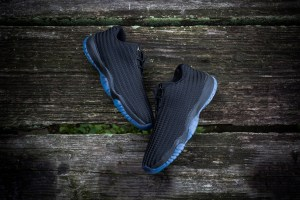 Air Jordan Future Low - Black/Metallic Silver