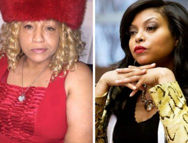 Sophia Eggleston and Cookie Lyon, played by Taraji P. Henson