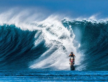 Stunt Rider Robbie Maddison Makes History, First To Surf On Dirtbike