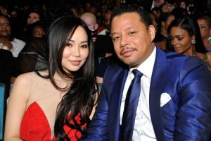 Terrence Howard and Mira Pak