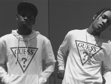 Sneak Peek At A$AP Rocky x Guess Collaboration