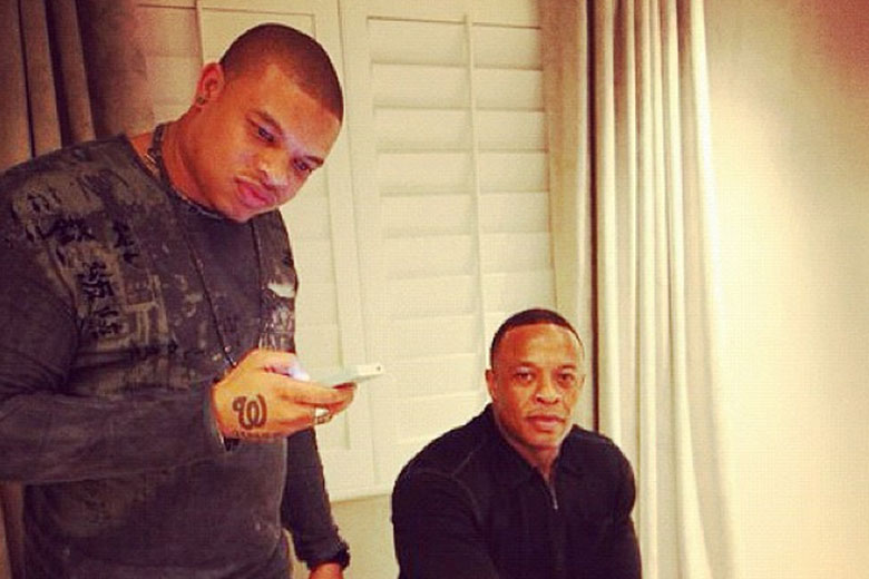 Curtis Young and Dr. Dre