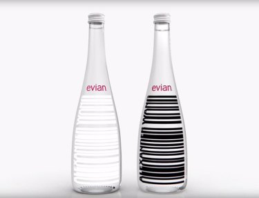 Alexander Wang x Evian Limited Water Bottle