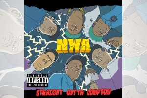 Artists Re-Imagine N.W.A.'s 'Straight Outta Compton' Album Cover