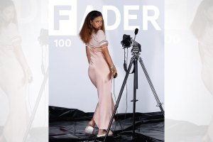 Rihanna Covers The FADER's 100th Issue