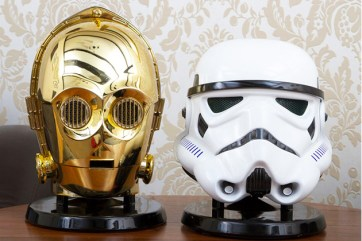 Star Wars Stormtrooper & C-3PO Bluetooth Speakers