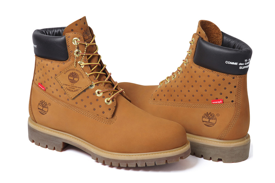 ecaaab4b8a71 Supreme x COMME des GARCONS Timberland 6-Inch Boot