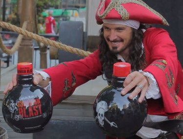Captain Morgan Launches Shot-Inspired Canon Blast In Orlando