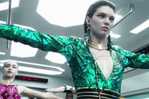 Kendall Jenner Engages In Dance Battle For Balmain x H&M