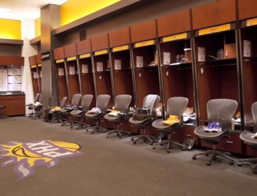 Inside The Phoenix Suns' Locker Room