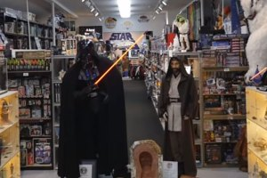 Largest Private Collection Of Star Wars Memorabilia