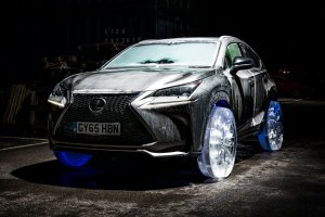 Lexus Puts Ice Wheels Onto Its NX SUV