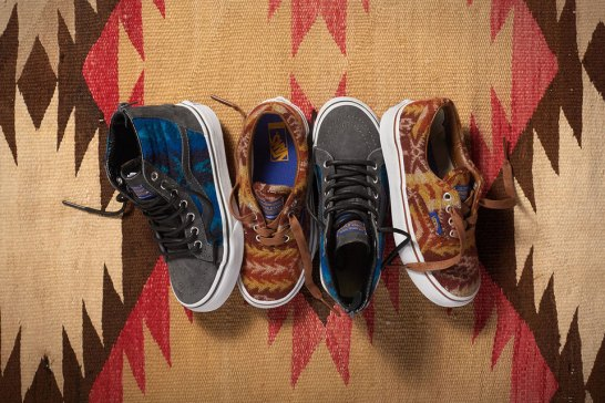 Vans x Pendleton Holiday 2015 Collection