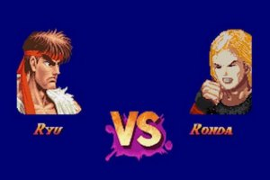 If Ronda Rousey was a Character in Street Fighter II