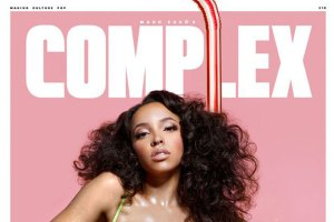 Tinashe Sets a Thirst Trap on Complex Cover