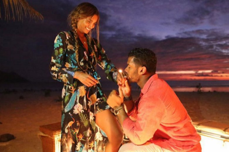 Ciara and Russell Wilson get engaged