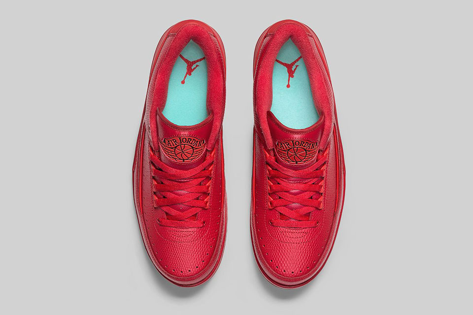 outlet store 648d2 863f1 Air Jordan 2 Retro Low Gym Red