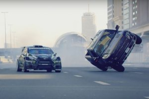 Insane! Watch Ken Block Drift Through Dubai