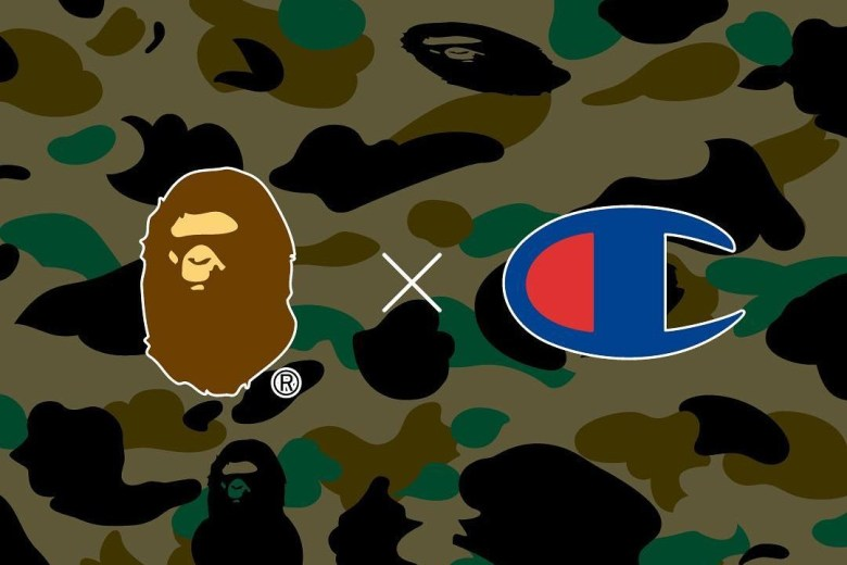 A Bathing Ape Teases Champion Collaboration