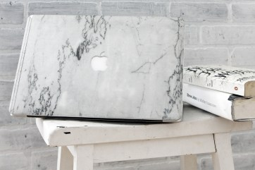 ELEMNT Delivers Real Marble MacBook Covers