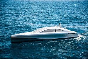 Check Out this Yacht Mercedes-Benz Designed