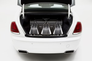 Rolls-Royce Introduces $46K Luggage Collection for Its Wraith