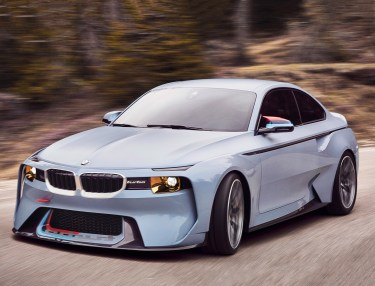 BMW's 2002 Retro Concept, the Hommage Concept Turbo