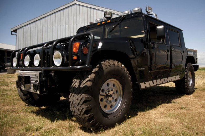 Tupac's 1996 Hummer H1 Going Up For Auction