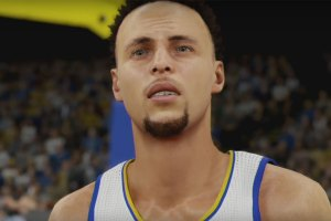 Stephen Curry in NBA 2K