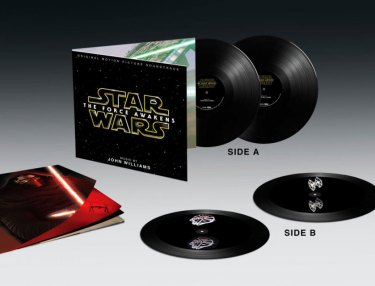 Star Wars: The Force Awakens 2-LP hologram soundtrack