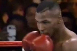 Time traveler at 1995 Mike Tyson fight?