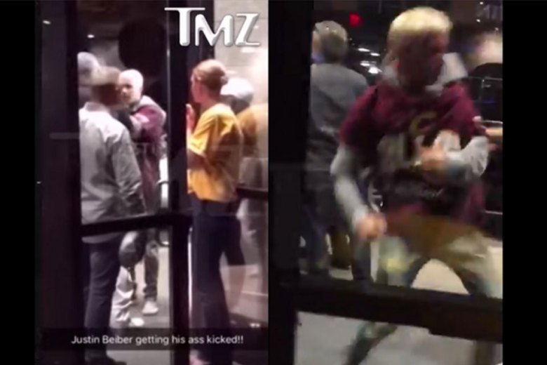 Justin Bieber Gets Into Fist Fight After Cavs-Warriors Game