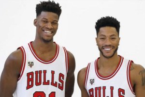 Jimmy Butler and Derrick Rose