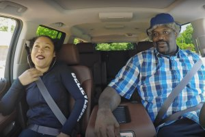 Shaquille O'Neal Goes Undercover as a Lyft Driver