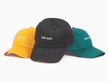 Benny Gold Stay Gold Dad Hats