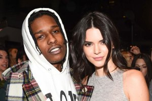 A$AP Rocky and Kendall Jenner