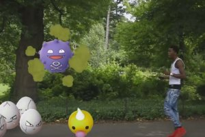 Desiigner Pokémon Go in Central Park