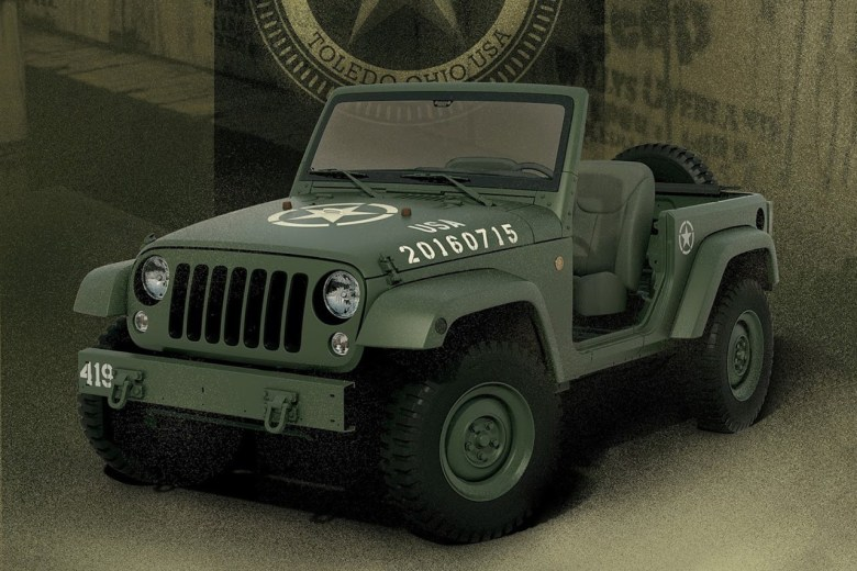 Jeep Celebrates 75th Anniversary With Wrangler Concept