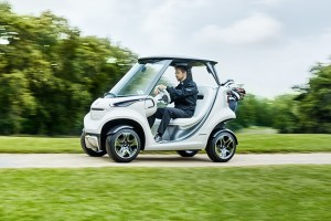 Mercedes-Benz Unveils Its First Golf Cart Ever